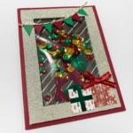 シェイカークリスマスカード完成品